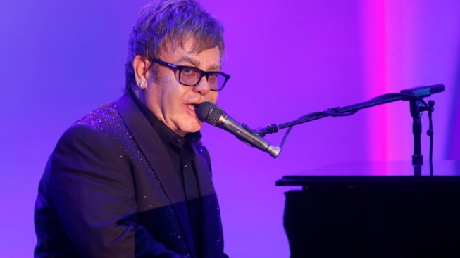 "Appendicitis-Hit Elton John ""Grateful to Be Alive"""