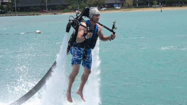 """Iron Man"" Jetpacks Spark Concerns in Hawaii"