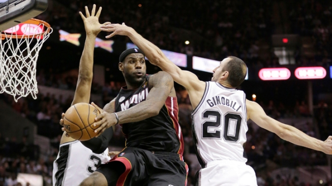 Heat, Spurs Set For Pivotal Game 5 of NBA Finals