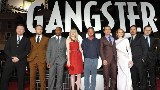"""""""Gangster Squad"""" to Debut After Reality Intervened"""