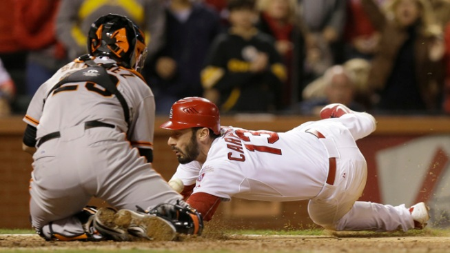 Cardinals Beat Giants 8-3 to Take 3-1 Lead in NLCS