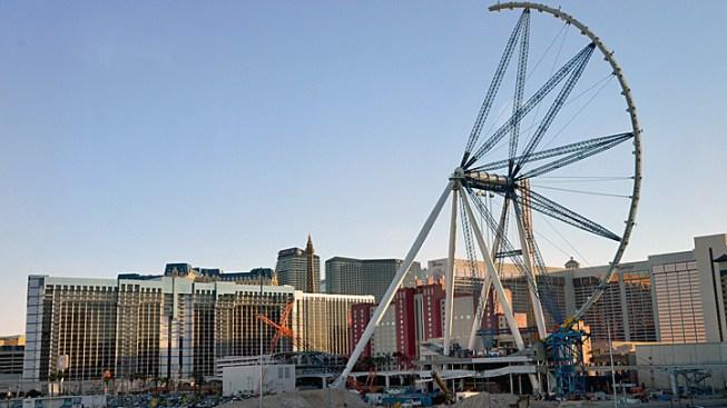 World's Largest Ferris Wheel to Rise Above Las Vegas Skyline Tuesday