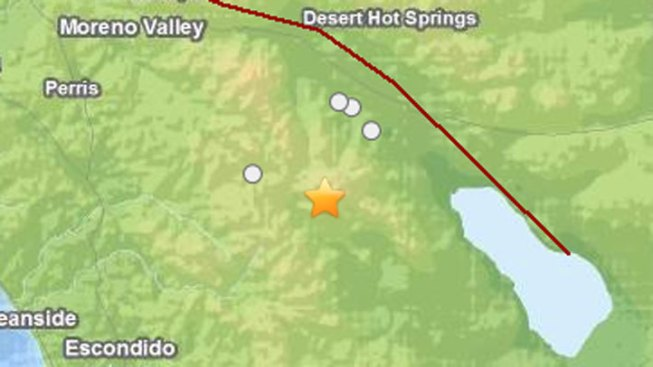 Earthquake Shakes Southern California