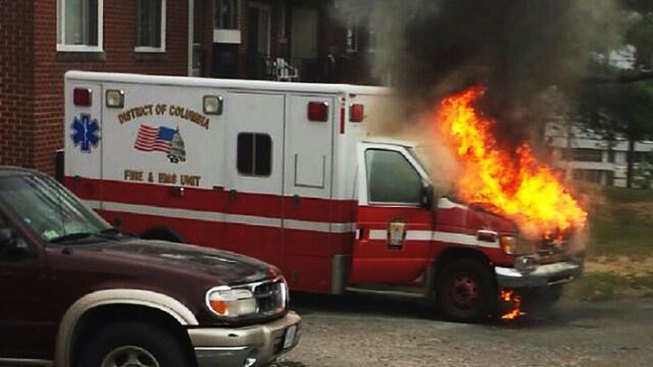 Police Asked to Investigate Two D.C. Ambulance Fires
