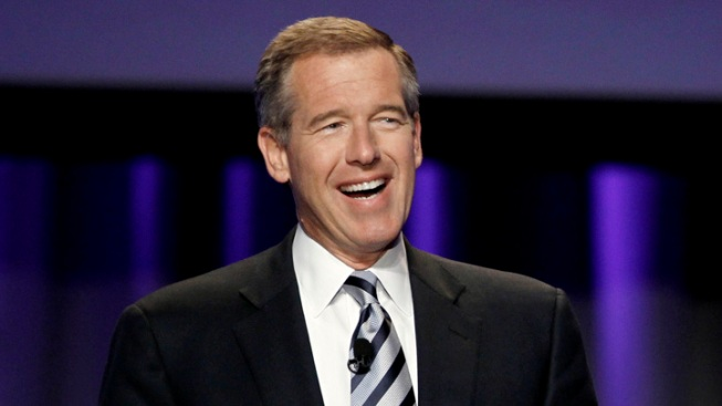 """WATCH: Brian Williams Raps Young M.C.'s """"Bust a Move"""""""