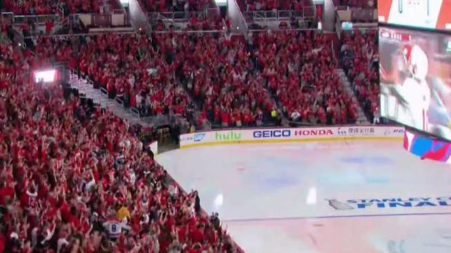 fed4893a095 Capitals Lose Game 1 of Stanley Cup in Suspenseful Match - NBC4 ...