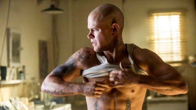 "Matt Damon Talks ""Elysium"" Prep: 4 Hours a Day in the Gym"