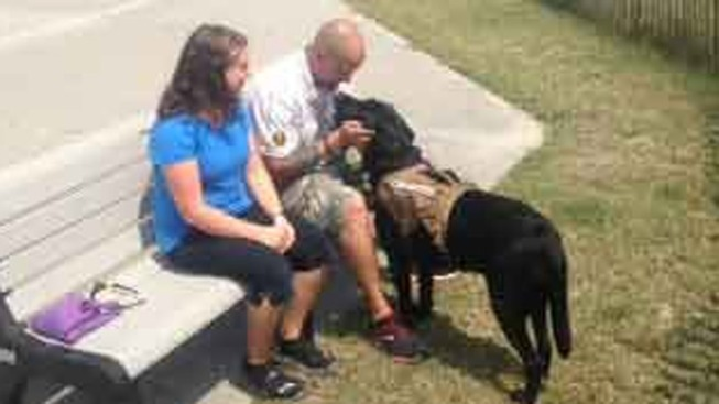 Disabled Veteran Kicked Off Boardwalk Because of Service Dog