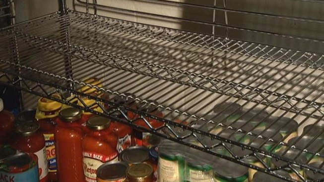 Drop in Inventory at Prince George's County Food Pantries