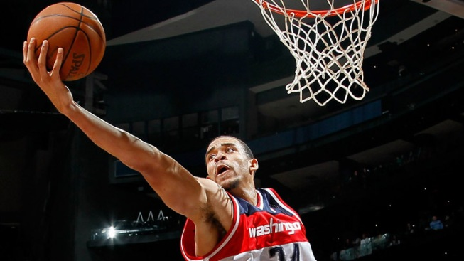 McGee, Wizards Blow Out Pistons