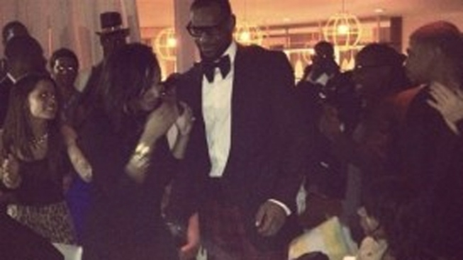 LeBron James Begins 2012 By Getting Engaged