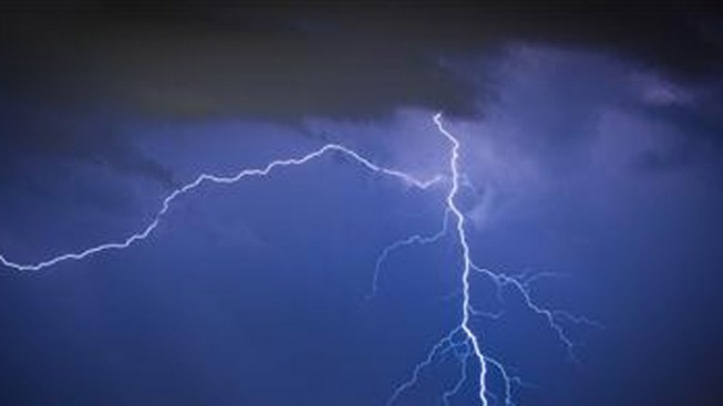 Lightning Hits National Weather Service Office