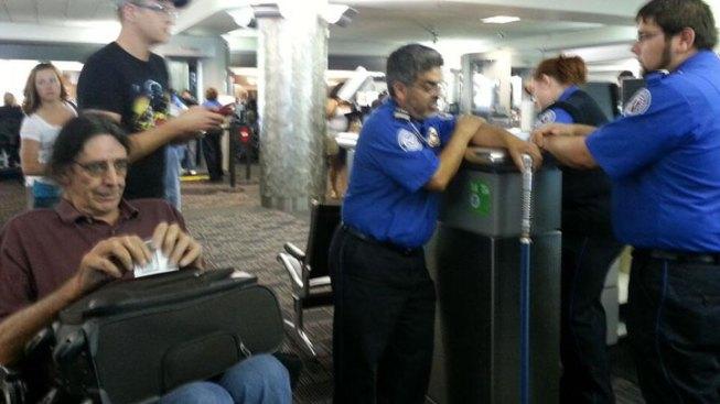 Chewbacca Actor Battles TSA Over Light Saber Cane