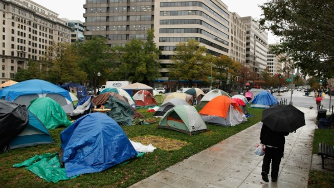 Congressman Asks Why Occupy Protesters Allowed to Camp at McPherson Square