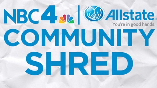 NBC4 Allstate Community Shred Scheduled for Sept. 10