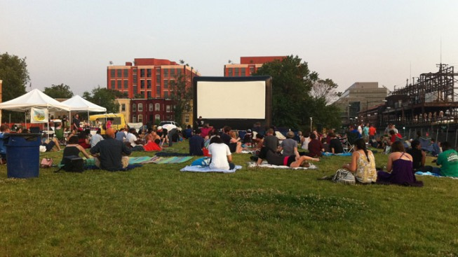 Your Summer 2016 Guide to Outdoor Movies in the DMV