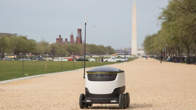 DC Could Become Test Spot for Robot Deliveries