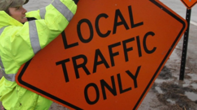 Multiple Roads Closed This Weekend