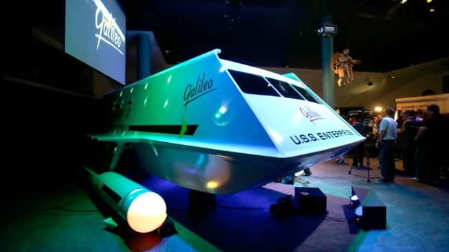 """Star Trek"" Fans Flock to Restored Ship Galileo"