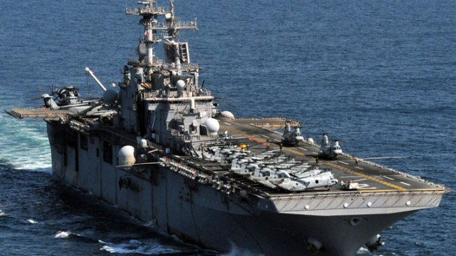 19-Year-Old Sailor Found Shot Aboard U.S. Aircraft Carrier