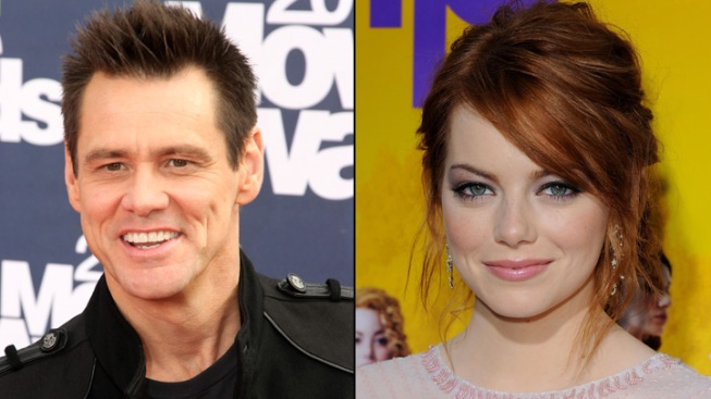 "Jim Carrey Wants to Have ""Freckle-Faced Kids"" With Emma Stone"
