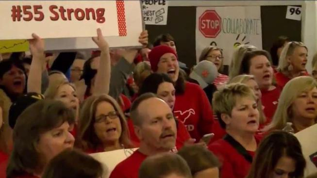 Image result for West Virginia teachers back to work after reaching deal with governor