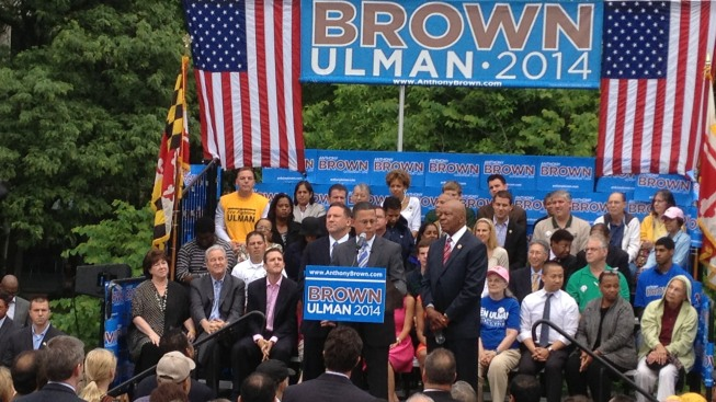 Obama Rally Planned for Brown in Maryland