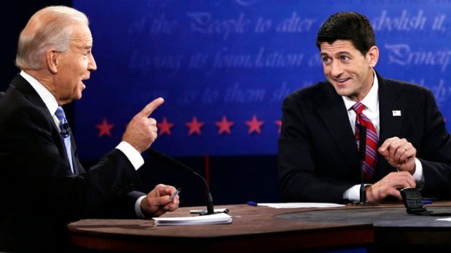 Gloves Off: Biden, Ryan Battle in Bruising Debate