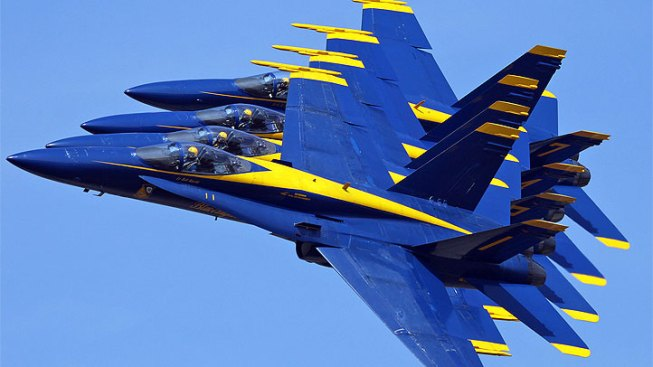 Blue Angels Cancel Show After Low Maneuver