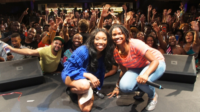 Brandy, Q Parker Rock Howard Theatre