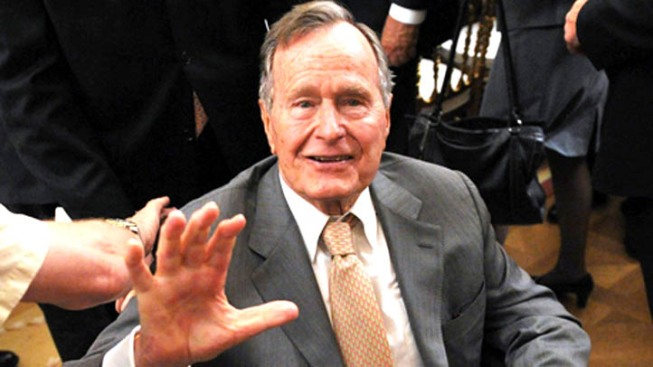 Former President George H.W. Bush Backs Gillespie
