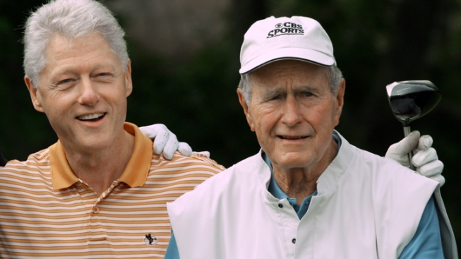 Bush, Clinton Dynasties on Display in Dallas