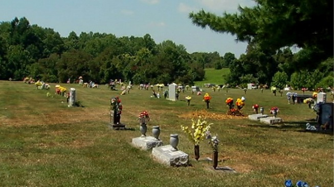 Local Cemetery on the Auction Block