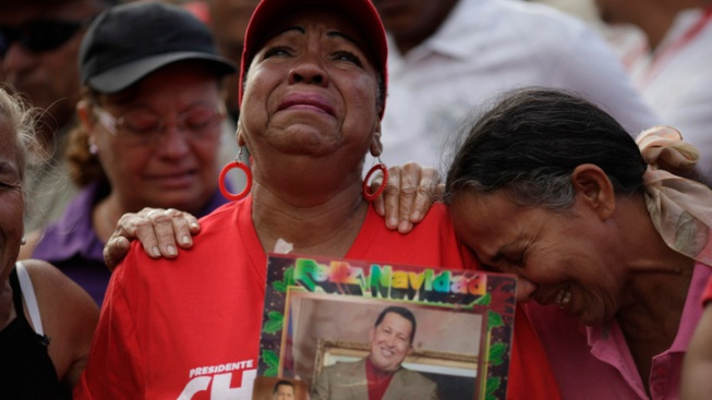 Death of Hugo Chavez Brings Mourning, Uncertainty