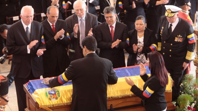 Chavez's VP Maduro Sworn In as Venezuela's Acting President