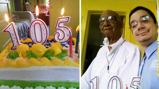 Virginia Man Celebrates 105th Birthday