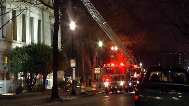 Corcoran Gallery Catches Fire