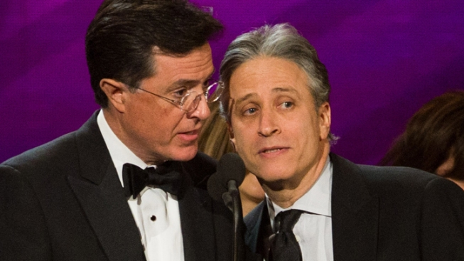 Comedy Central Awards: Colbert vs. Stewart