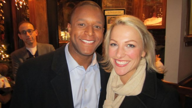 Craig Melvin, Lindsay Czarniak Engaged