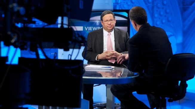 David L. Cohen, Comcast Executive Vice President Visits Viewpoint Show