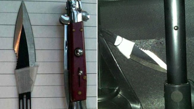 TSA Finds Knives in Woman's Carry-On at Dulles