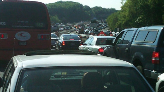 Survey Ranks D.C. Worst Traffic Region in Country