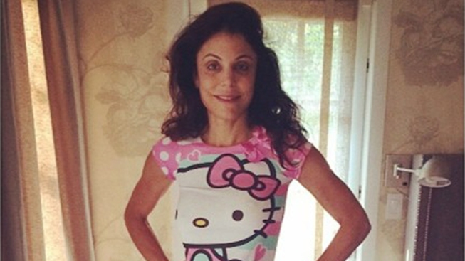 Bethenny Frankel Wears 4-Year-Old Daughter's Pajamas
