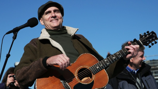 James Taylor Appears in Anti-Fracking TV Ad