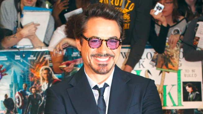Robert Downey Jr. is Number 1 on Forbes' List of Top Earning Actors