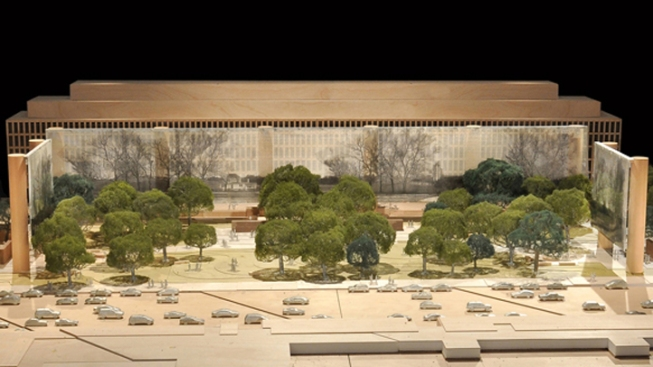 Eisenhowers Ask To Delay D.C. Memorial