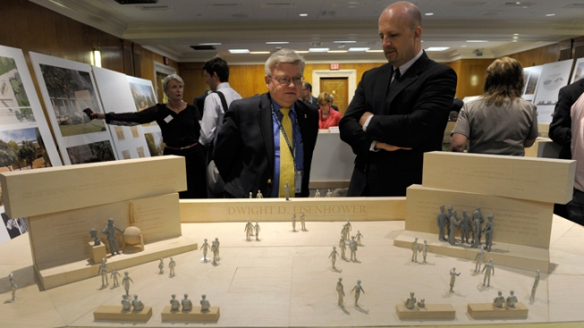Eisenhower Memorial Design Revised