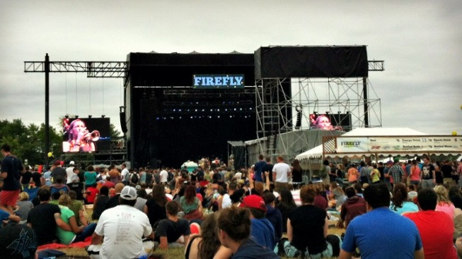 Under Overcast Skies, a Bright Day at Firefly Music Festival