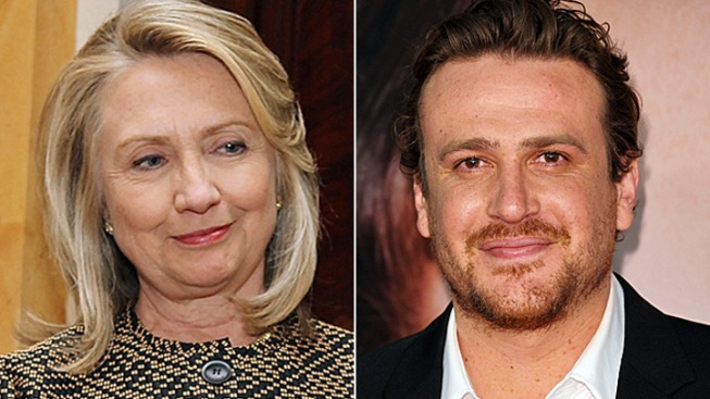 Hillary Clinton Regretfully Declines Co-Starring with Jason Segel