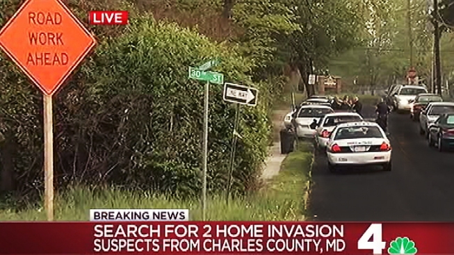 Charles County Home Invasion Suspects Lead Police on Chase